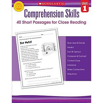 Comprehension Skills - Short Passages for Close Reading - Grade 1 by Li