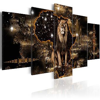 Wandbild - Golden Lion