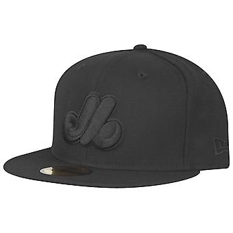 New Era 59Fifty Cap - MLB BLACK Montreal Expos Cooperstown
