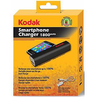 Φορτιστής PowerBank USB smartphone φορτιστή μαύρο 1800 mAh