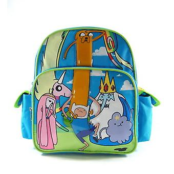 Small Backpack - Adventure Time - Forest  New School Book Bag 618223