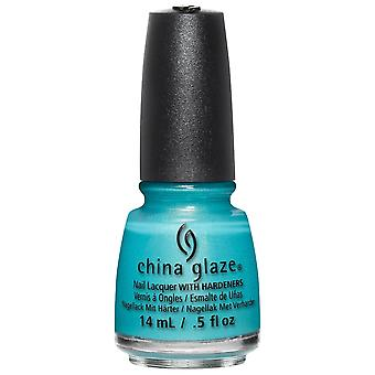 China Glaze Lite Brites 2016 Nail Polish Summer Collection - What I Like About Blue 14mL (83550)