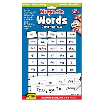 National Literacy Strategy Magnetic Words and Board Key Stage 1