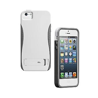 Case-Mate KickStand Pop Case Apple iPhone 5s/5 - White / Titanium Grey