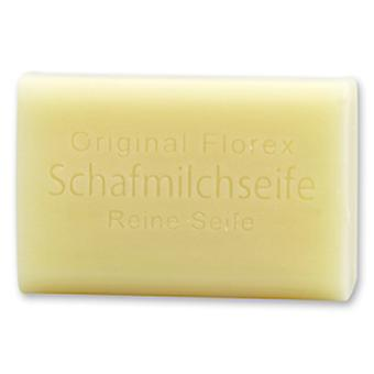 Florex Sheep's Milk Soap - Pure Soap - Shea Butter Soap without Perfume and Dyes Particularly Mild 100 g