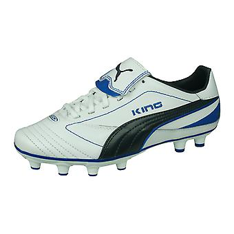 Puma King Finale I FG Womens Leather Football Boots / Cleats - White