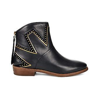 UGG Australia Womens Lars Almond Toe Ankle Fashion Boots