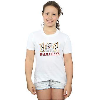 Disney meisjes 101 Dalmatiërs Puppy knuffel T-shirt