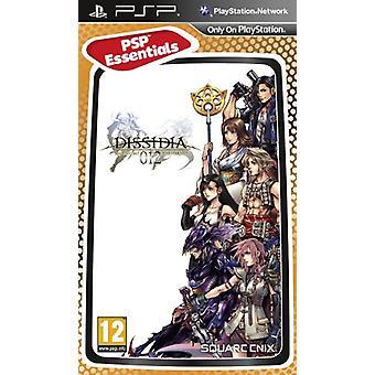 Dissidia 012 duodecim Final Fantasy-Essentials (PSP)-nieuw