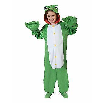 Rana Costume Jumpsuit Frog Bambino Animale Unisex Bambini Costume Animale Costume Nel complesso