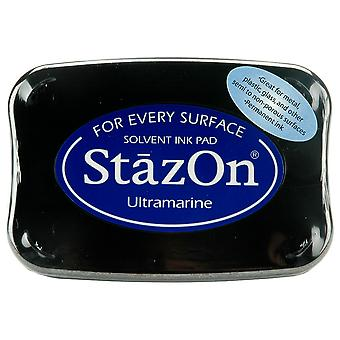 StazOn Solvent Ink Pad - Ultramarine