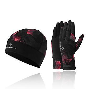 Ronhill Contour mössa och handske set-AW19