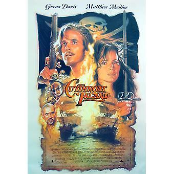 Cutthroat Island original Cinema affisch