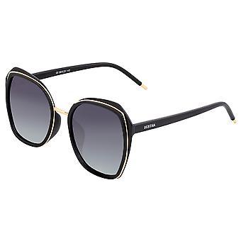Bertha Jade gepolariseerde zonnebril-zwart/zwart