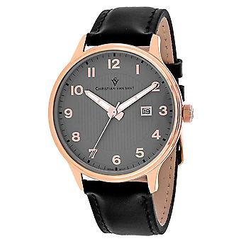 Christian Van Sant Uomo's Montero Grey Dial Watch - CV9810