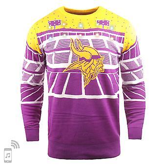 NFL Ugly Sweater XMAS LED Pullover - Minnesota Vikings