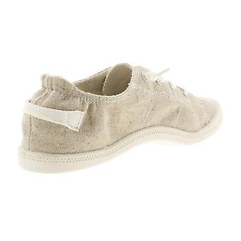 Material Girl Womens Brooke Canvas Padded Insole Casual Shoes