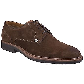 Gabicci Mens Mercer Gibson Lace Shoe Light Brown