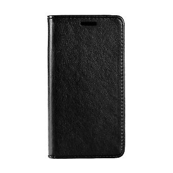 Fall für Samsung Galaxy S10 schwarze Brieftasche