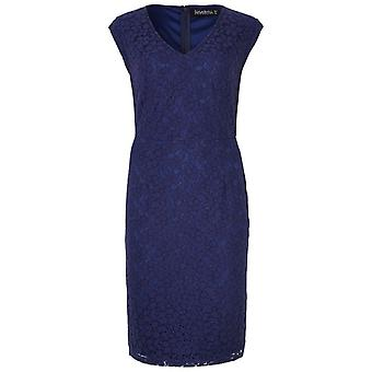 Sugarhill Boutique Cerys Navy Lace Dress