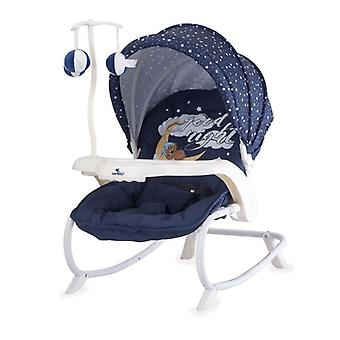 Lorelli Baby Rocker, Baby Rocker DREAM TIME Sunroof, Mobile, Table, Adjustable