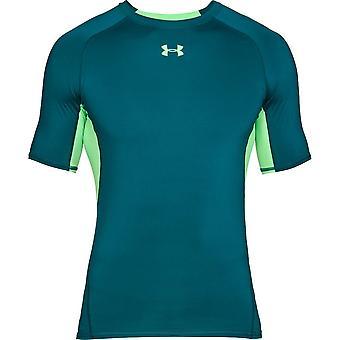 アンダーアーマー圧縮シャツ1257468716トレーニング夏の男性Tシャツ