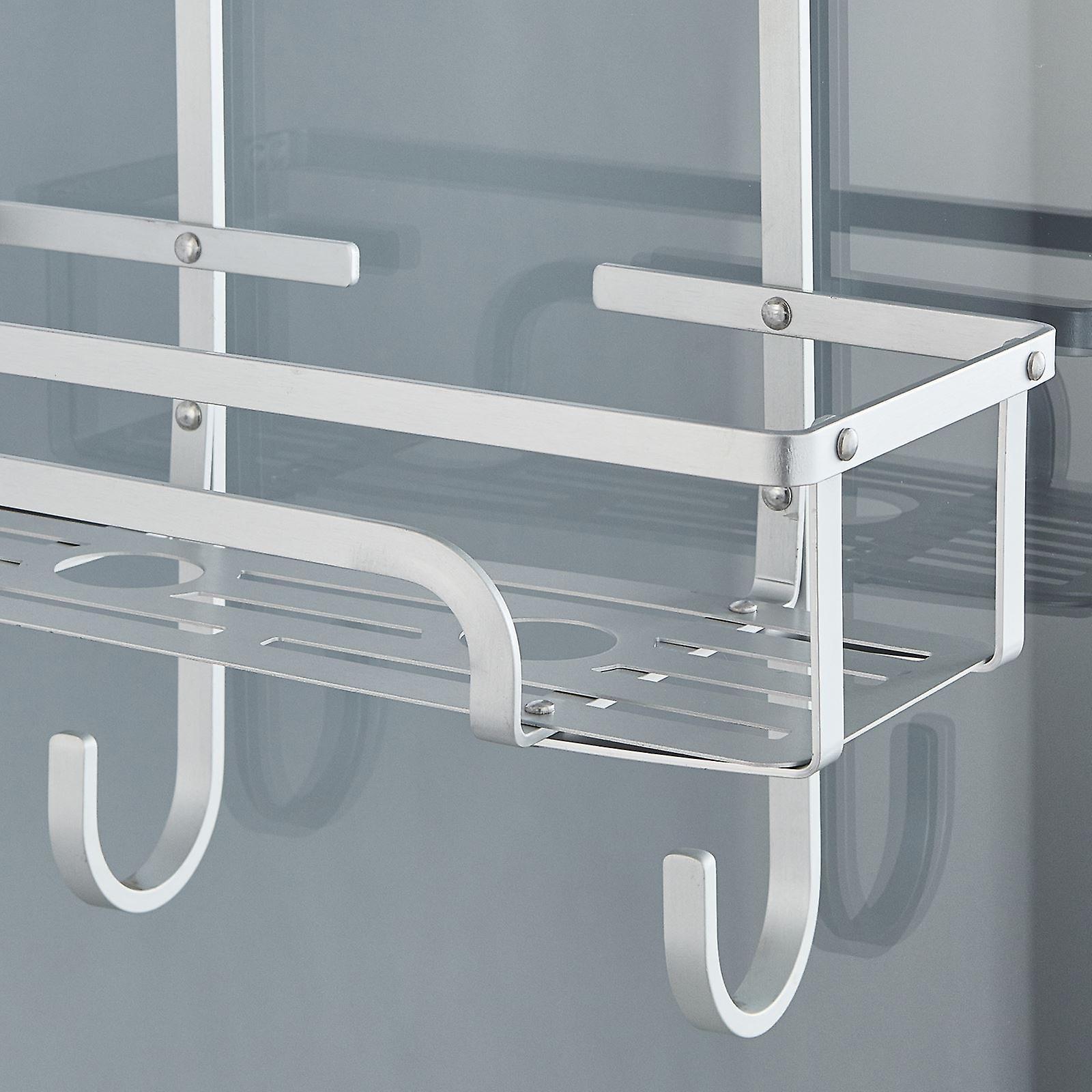 3 Tier Aluminium Over Door Shower Caddy