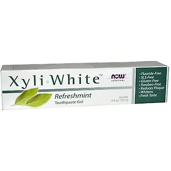Now Foods XyliWhite Refreshing Toothpaste Gel 181 gr