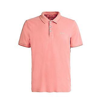 GUESS Damon Polo Shirt In Orange