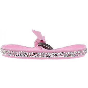 Bracelet interchangeable A24941 - tissue Rose woman Swarovski crystals Bracelet