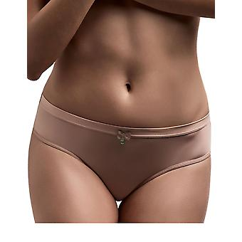 Marlies Dekkers 18876 Women's Ms. Bow Nude Solid Colour Knickers Panty Full Brief