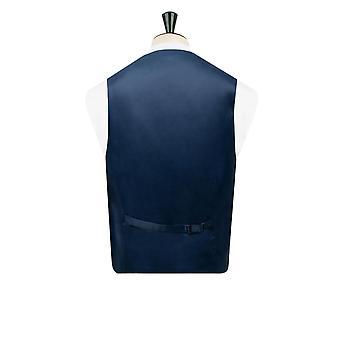 Liberty Mens 'Louis Blue' Floral Vest Regular Fit 100% Cotton