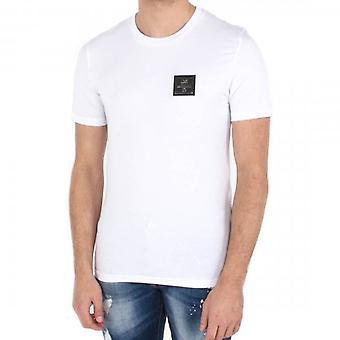 Love Moschino Metal Logo White T-Shirt M473189E1811