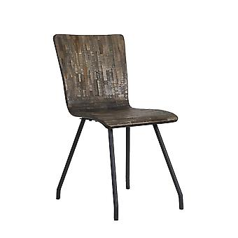 Light & Living Chair 41x45x88cm Flores Wood-Grey