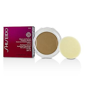 Shiseido Sheer & Shiseido Shiseido Shis Perfect Compact Foundation Spf15 (täyttö) - #o40 Natural Fair Orche 10g /0.35oz
