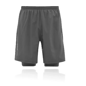 Higher State Mens 2 In 1 7 Inch Running Short - AW20