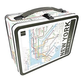 New york subway tin carry all fun box