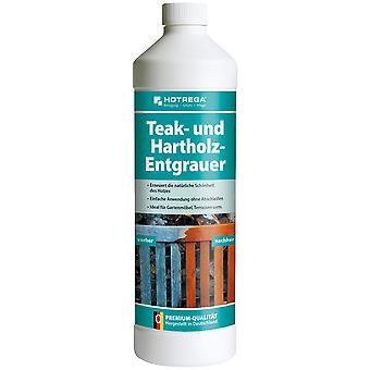 HOTREGA® teak degrourer, 1 litre bottle