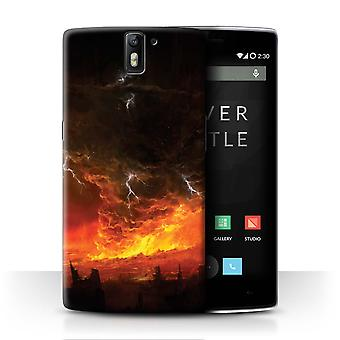 STUFF4 Case/Cover for OnePlus One/Apocalypse/Fallen Earth