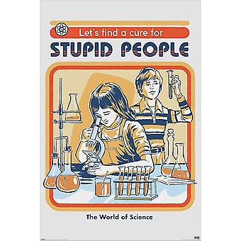 Steven Rhodes, Maxi Poster - Stupid People