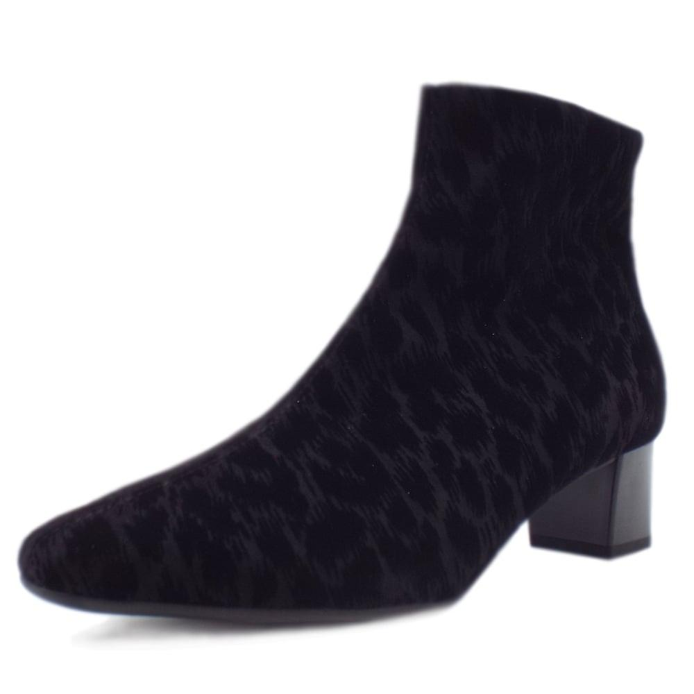 Peter Kaiser Osara Fashion Ankle Boot In Black Tulia 0mzle