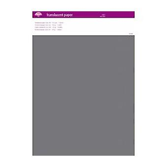 Pergamano Translucent Paper Grey A4 150 gsm 5 Sheets