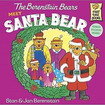 Osos de Berenstain cumplir con Santa oso (osos de Berenstain primera vez capítulo libros (Prebound))