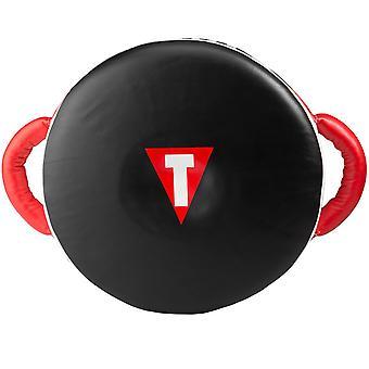 शीर्षक मुक्केबाजी शून्य प्रभाव पहिया पंच शील्ड-ब्लैक/रेड
