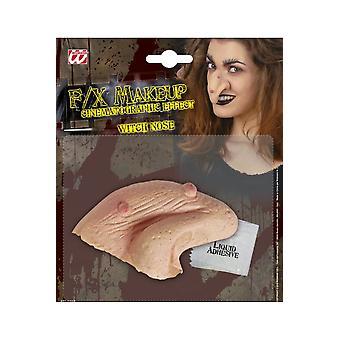 Halloween e nariz da bruxa do horror