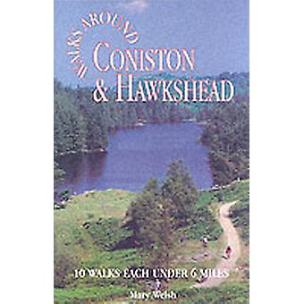 Coniston and Hawkshead Walks around by Mary Walsh