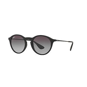 Ray-Ban RB4243 622/8G Svart gummi/grå gradient solglasögon