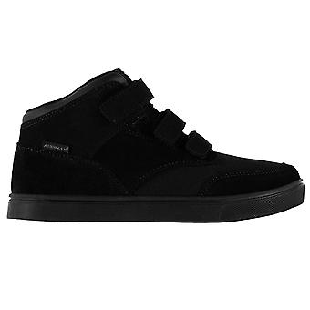 Airwalk Kids Breaker Mid Boys Skate Shoes Touch and Close Flat Sole Fashion