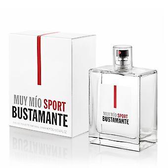 Unisex Perfume Muy Mío Sport Bustamante EDT/100 ml