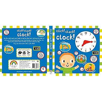 Click Clack Clock by Stephen Barker - 9781784680817 Book